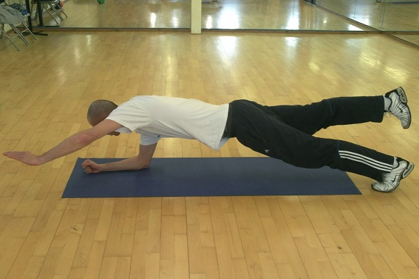 2-Point Plank