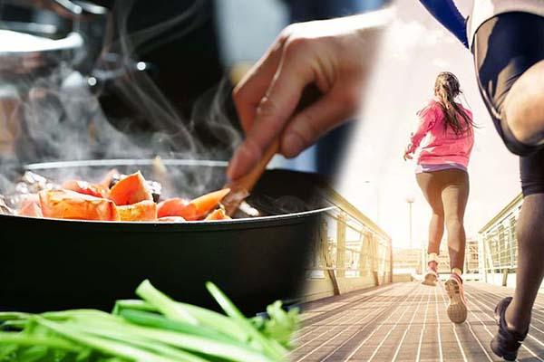 อาหารที่ควรกินก่อนและหลังการออกกำลังกาย